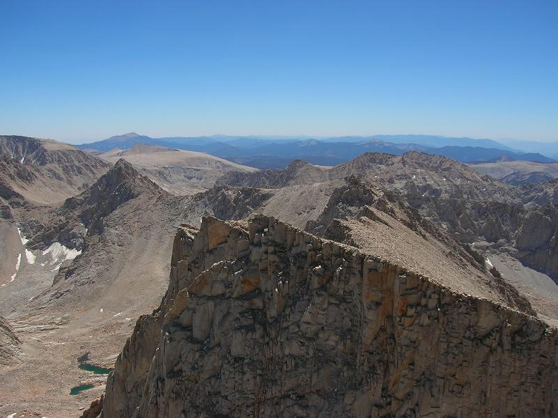 Mount Whitney Summit, August 2008 - Highest point in continental US