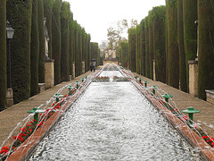 Alcazar Gardens - Cordoba, Spain