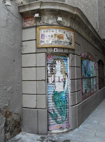 Graffiti, Barcelona, Spain