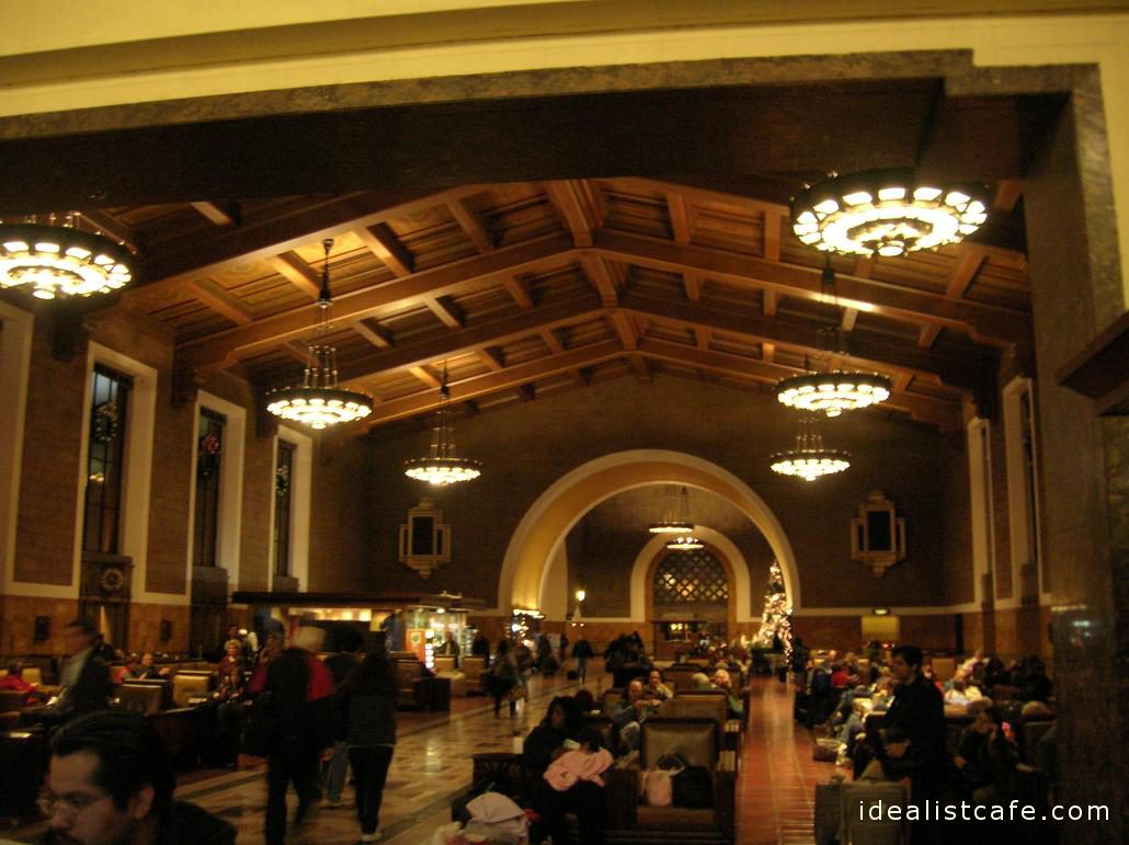 Inside Union Station, Los Angeles