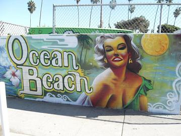 Seedless graffiti, Ocean Beach, San Diego, California