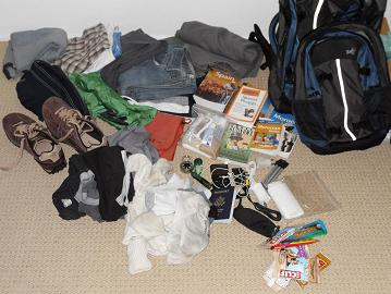 What I packed for 10 days in Spain