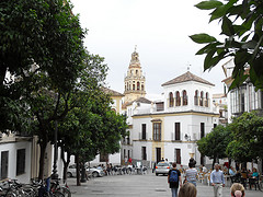plaza in Cordoba, Spain