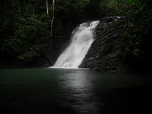 Waterfall near Dominical