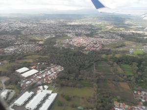 San Jose from the airplane