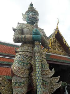 Giant Demon guard at Grand Palace