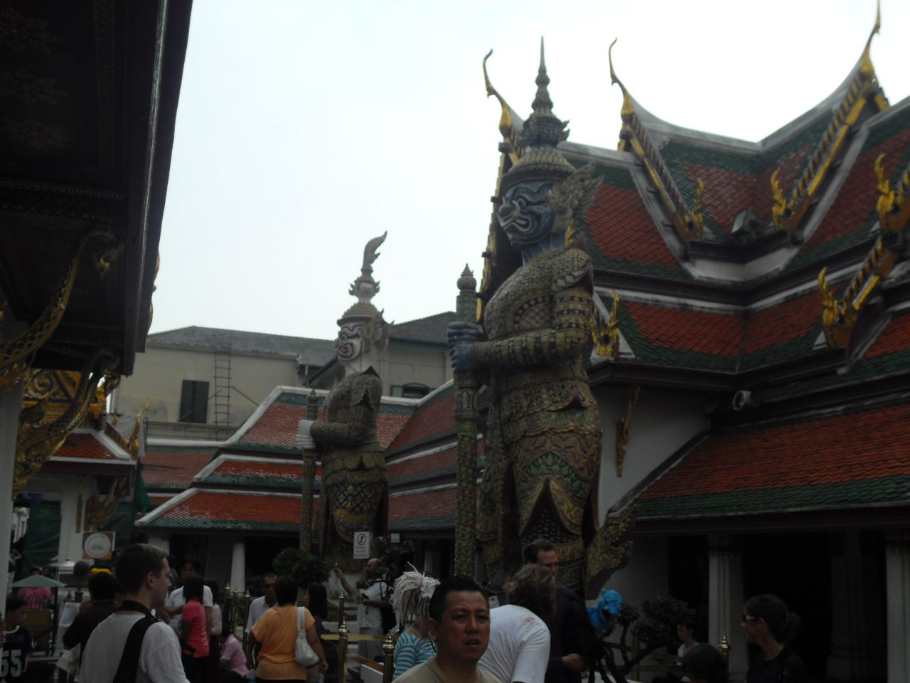 Giant Demon guards at Grand Palace
