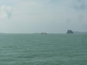 On the boat to Koh Pha Ngan