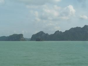 Another view of Gulf of Thailand on way to Koh Phangan