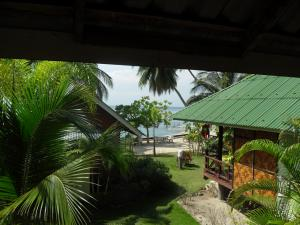 View from bungalow to ocean, Haad Tian