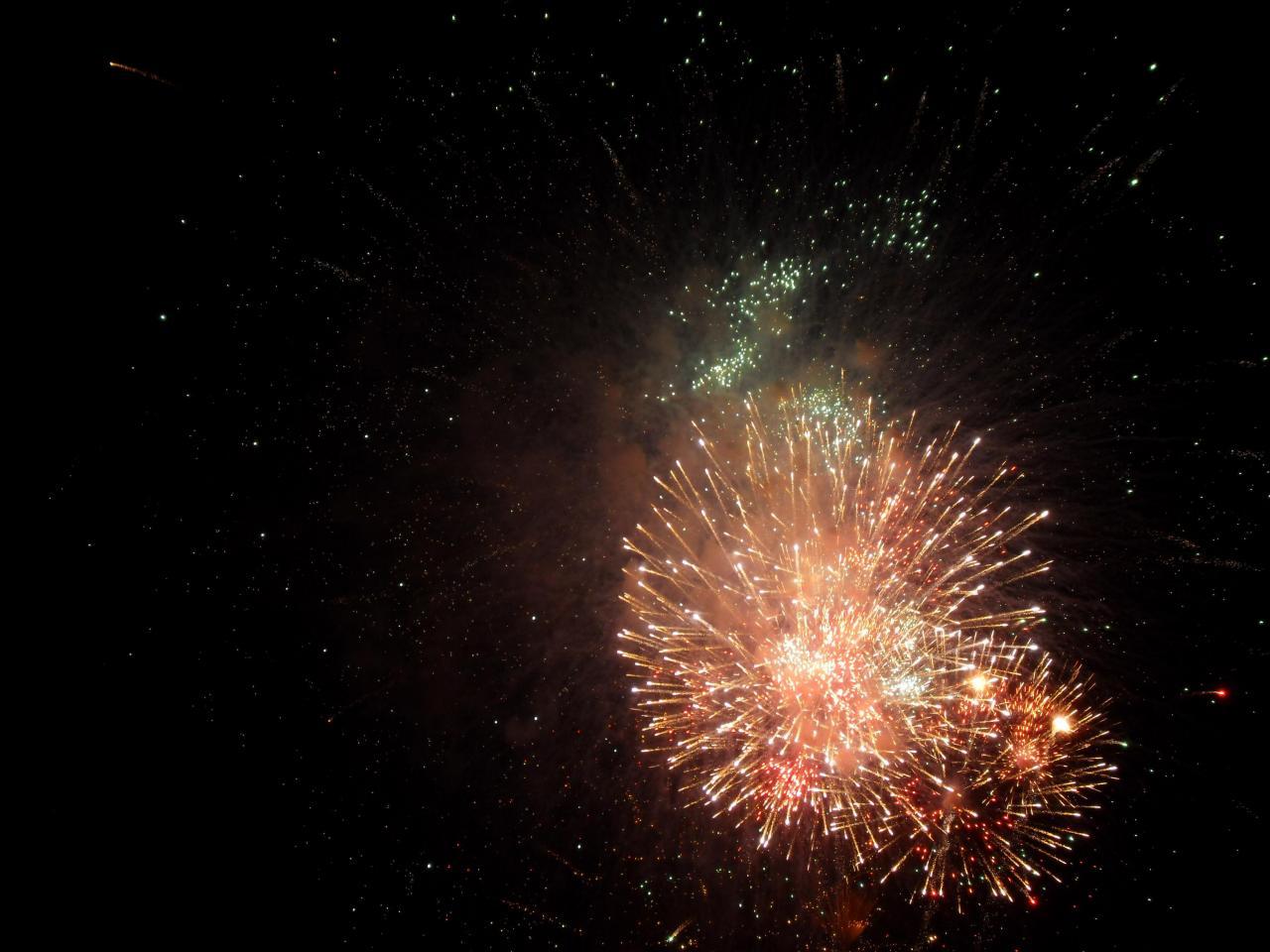 Full Moon Fireworks Full Moon Party Fireworks