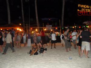 Away from the chaos, Full Moon Party