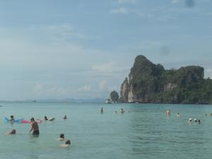 Looking out to ocean in Phi Phi
