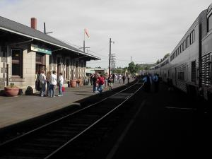 Klamath Falls Amtrak Station, Oregon