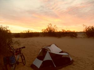 Renegade camping in Glamis sand dunes