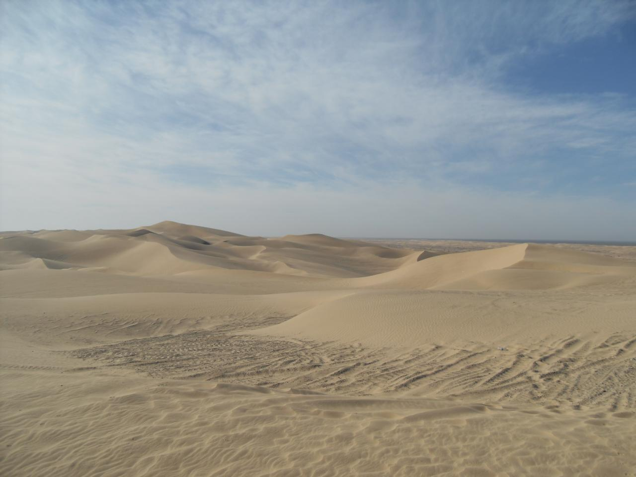 Glamis sand dunes. So peaceful.