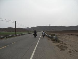 Riding along the US / Mexico border
