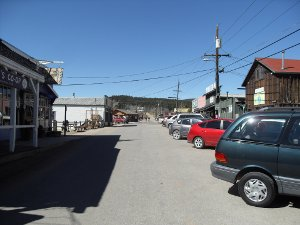 First Street in Nederland, Colorado