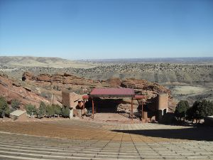 Red Rocks Ampitheater outside Denver, Colorado