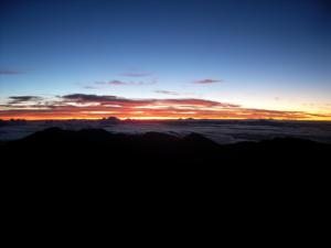 Haleakala waiting for sunrise