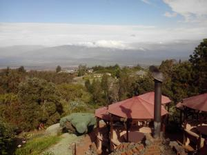 View from Kula Lodge on way down Haleakala